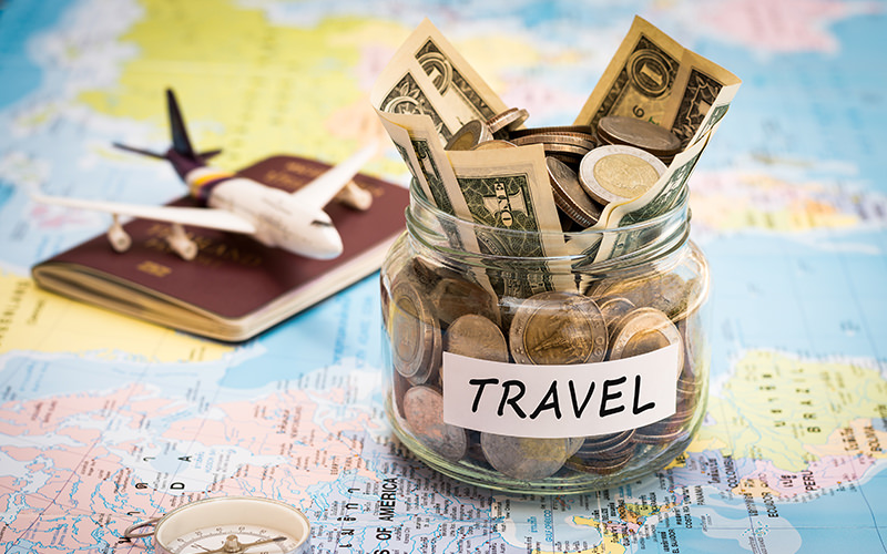 travel saving budgeting traveling-forever
