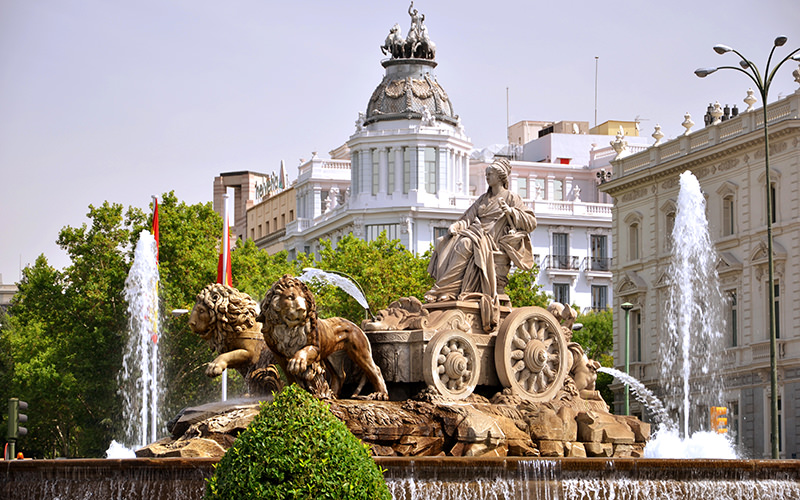 Cibeles Madrid Spain Traveling-Forever