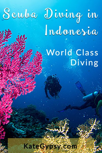 Scuba diving in Indonesia KateGypsy